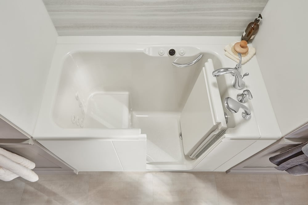 How to Properly Care for Your Walk-In Bathtub